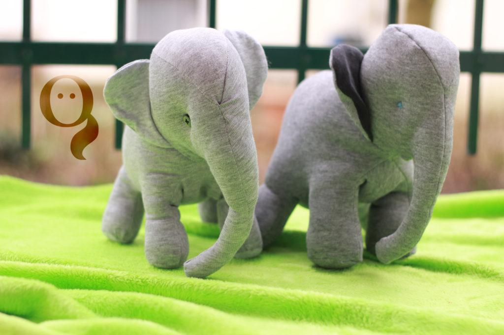 Tutorial - Upcycling Elefant • Frau Göllner
